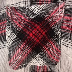 Maurices Glittery Flannel Shirt WORN ONCE
